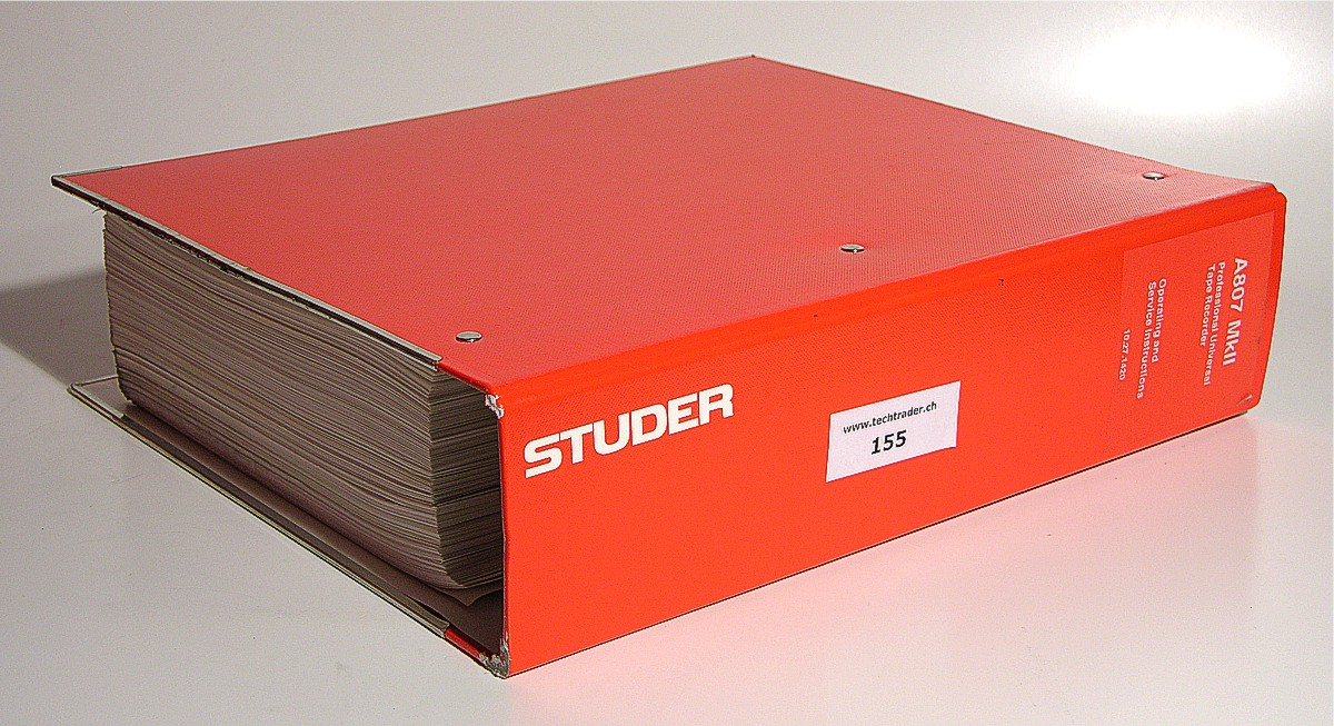 Studer A807 Service Manual Related Keywords & Suggestions